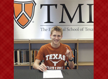 TMI Runner Signs With UT-Austin