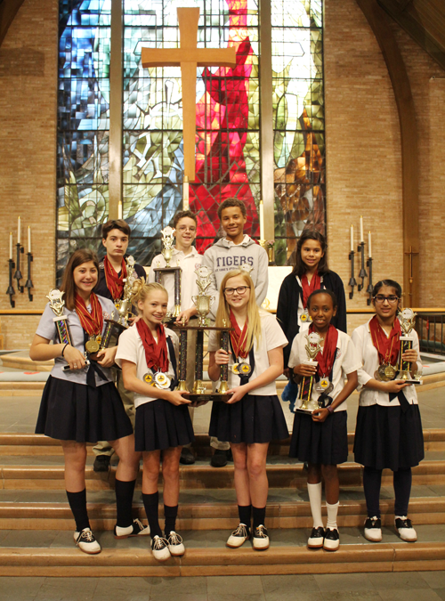 St. Luke's Episcopal School Middle Schoolers swept the competiition at the World Scholar's Cup