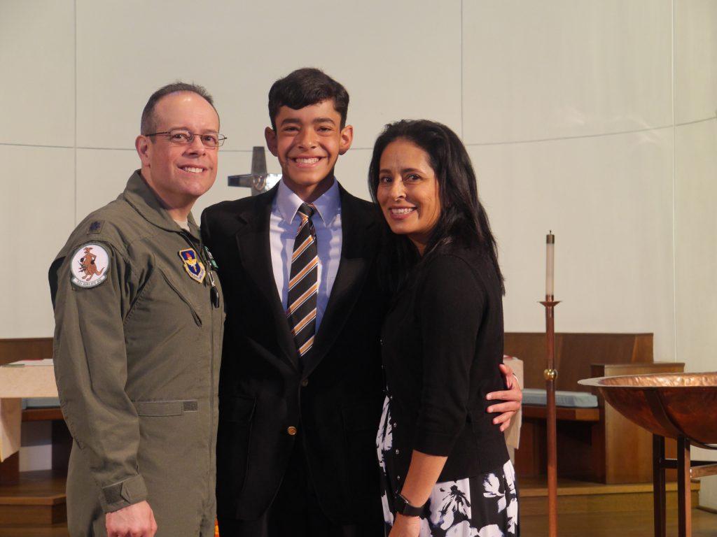 Teddy Lopez awarded Alkek Scholarship