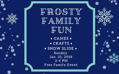 Flyer for St. Luke's Episcopal School Winter Wonderland