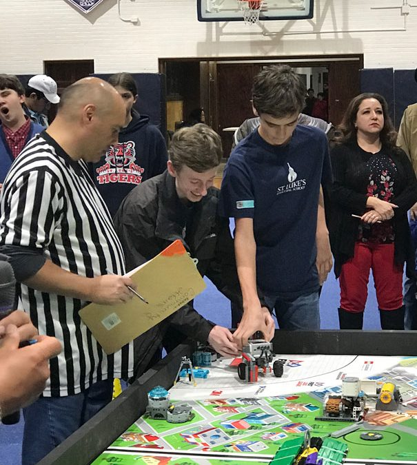 SLES –Winner in First Lego League Competition