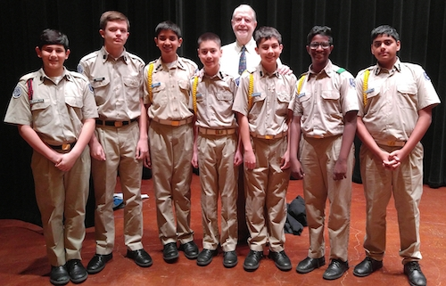 San Antonio Academy MATHCOUNTS Team Earn 2nd Place at City Tournament