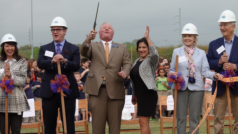 The Winston School Groundbreaking