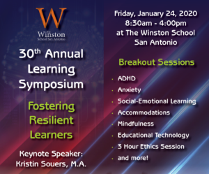 30th Annual Learning Symposium at The Winston School San Antonio