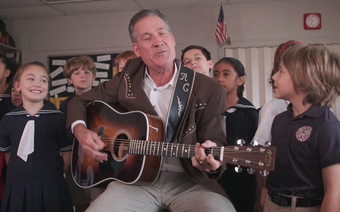 Rick Cavender records song in honor of St. Luke's
