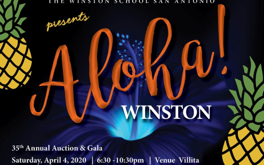 Aloha Winston – 34th Annual Auction & Gala