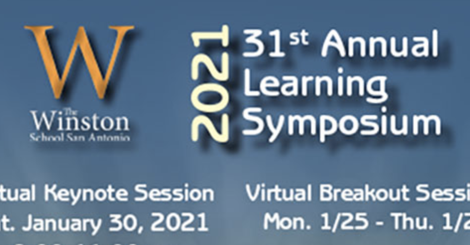 The Winston School's 31st Annual Learning Symposium Announced!